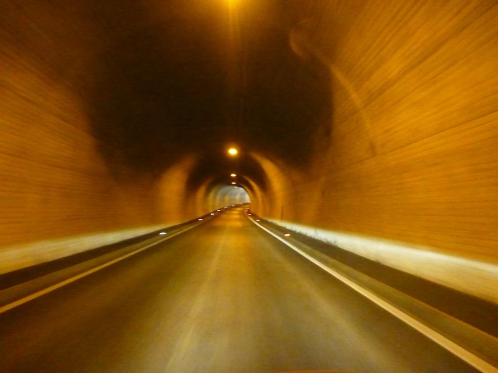 Tunneli Schmirntalissa