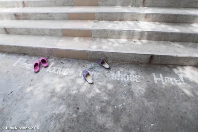 Jätä kenkäsi sillä paikka jolle astut on pyhä