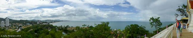 Mahtava näkymä rantaan
