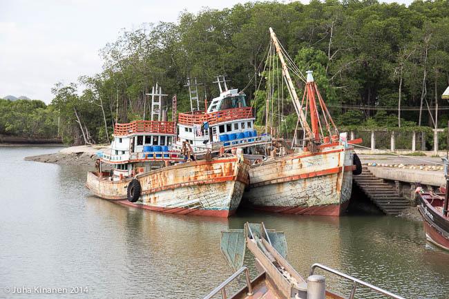 Piktoreskeja laivoja