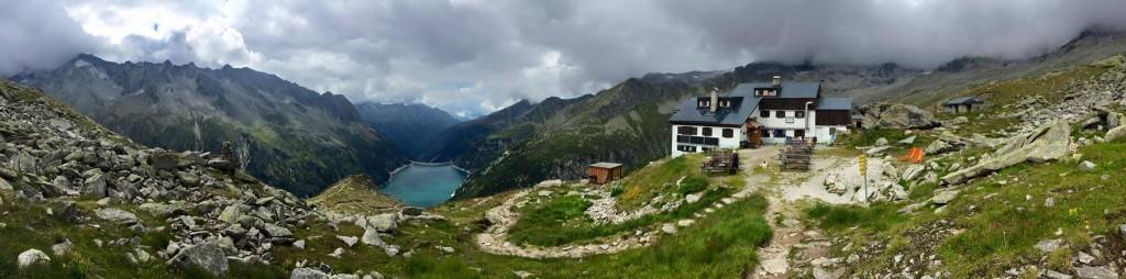 Plauener Hütte 2363 m